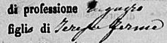 Annunci gratuiti  #annunci #gratuiti #vendere #usato Help! This is a part the death certificate of my italian great-great-great-great-great grandfather. I understand most of it but the profession is a word unknown to me. Could you please see if you understand what it says?