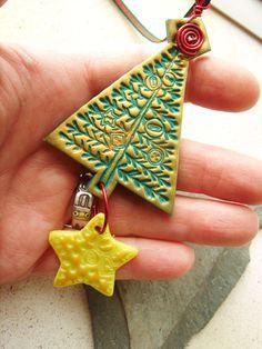 DIY Polymer clay ornament