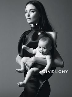 Givenchy (Mariacarla Boscono & daughter Marialucas)