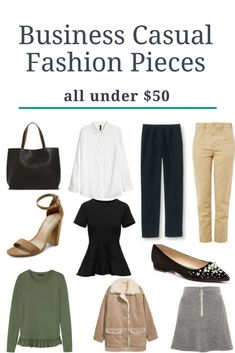 Business Casual Fashion Pieces: Under $50
