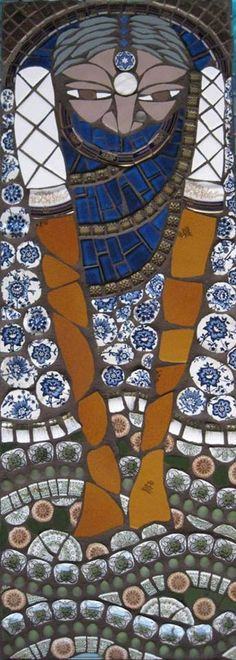 Nanni-Ma © Caroline Jariwala  Mango Mosaics