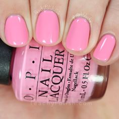 OPI Suzi Nails New Orleans | Spring 2016 New Orleans Collection | Peachy Polish