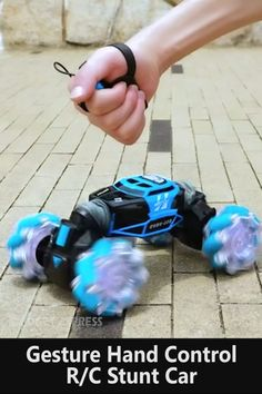 This unique RC Car has 3 control methods- Remote control, gravity sensor watch control, and hand gesture control. The Easy Hand Motion Controls is really intuitive for kids. It features cool light and music which can be turned off if needed. This sensor rc car can go forward and backward, reverse left and right, racing drift, 360° rotation, special deformation function, and twist into different deformations. Makes a nice birthday gift or christmas gift. #rccars #toys #radiocontrol #affiliate
