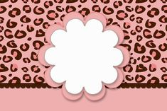 Oncinha Rosa – Kit Completo com molduras para convites, rótulos para guloseimas, lembrancinhas e imagens! |Fazendo a Nossa Festa