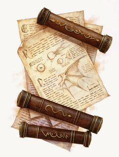 L3 - Scroll of Monster Knowledge.jpg (Imagen JPEG, 400 × 529 píxeles)