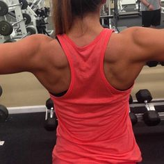 MY back is even MORE defined then this!  Don't neglect your back !