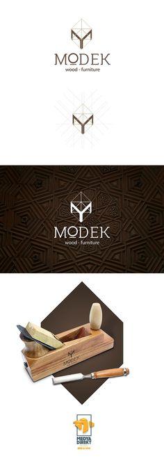 Modek - wood & furniture Logo Design on Behance More