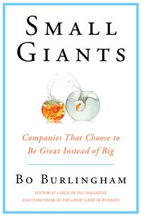 My all-time favorite business books. While I don't necessarily choose small over big, I do absolutely agree with choosing great over big.