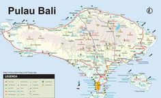 Carte Europe Bali.20 Best Bali Maps Images In 2019 Bali Indonesia Lombok