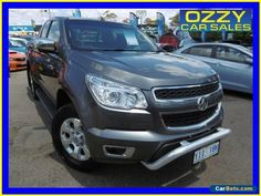 2013 Holden Colorado RG LTZ (4x4) Grey Automatic 6sp Automatic Spacecab #holden #colorado #forsale #australia