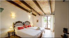 hálószoba mediterrán lakásban (Lakberendezés 10)