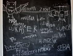 U nás na kopečku: Na knize .... Art Quotes, Chalkboard, Chalkboards, Chalk Board, Blackboards