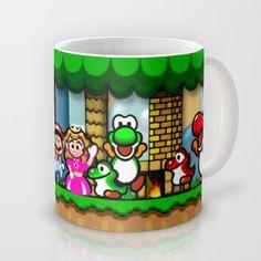 Super Mario World Happy Ending Mug