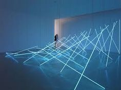 """""""In 1963 my neon works were provocative, vulgar and unsellable. Today, they are stylish, expensive and very trendy,"""" said late light artist François Morellet in his last interview with Read their entire conversation with link in bio. Op Art, Neon Lighting, Lighting Design, Event Lighting, Neon Tube Lights, François Morellet, Veuve Cliquot, Light Art Installation, Art Installations"""
