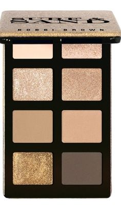 Summer nudes with a shimmer. The perfect palette