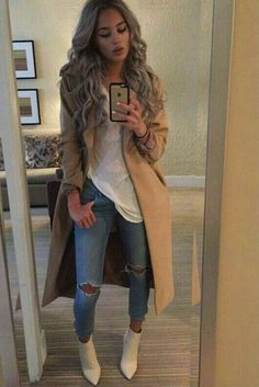 Imperfect love fashion, passion for fashion, womens fashion, fashion styles Mode Outfits, Casual Outfits, Fashion Outfits, Womens Fashion, Latest Fashion, Classy Fall Outfits, Lit Outfits, Casual Jeans, Casual Boots
