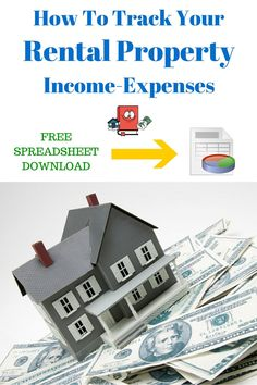 How To Track Your rental property expenses Income Property, Investment Property, Rental Property, Income Tax, Investment Quotes, Property Investor, Investment Tips, Selling Your House, Real Estate Tips