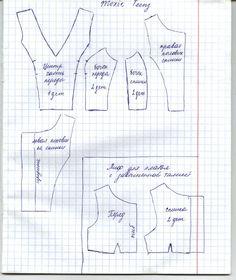 KasatkaDollsFashions: Pattern Bodice Dress for Moxie Teenz