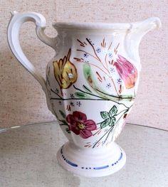 Blue Ridge Southern Potteries Easter Parade Milady Pitcher  americandinnerwareantiques.com