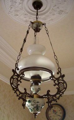 I would spend hours standing under this chandelier