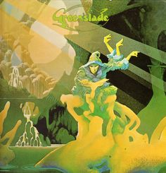 Roger Dean Rarities / Greenslade (1973) #Roger Dean #fantasy art