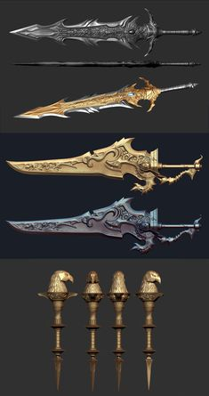 ArtStation - Weapons, Kim yong bae