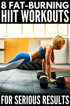 Did you know a 20-minute HIIT workout burns more fat than 50 minutes on a treadmill? Also known as high intensity interval training, these full body exercises have serious fat burning potential! From a fat loss workout with weights to killer abs to a post
