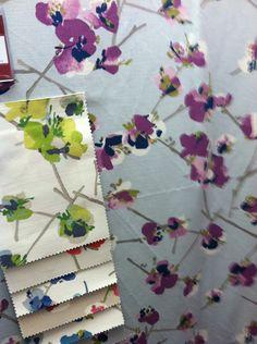 romo floral fabric #romo #romo_floral_fabric #romo_tejidos #estudio_estilo
