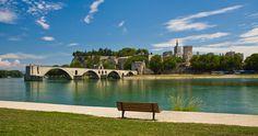 Avignon : the Bridge - The Palace of the Popes