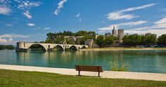 Avignon : the Bridge - The Palace of the Popes