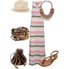 Un paseo por la playa, created by outfits-de-moda2 on Polyvore