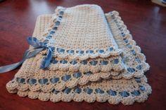 Tiramisu Crochet Baby Blanket Free Pattern