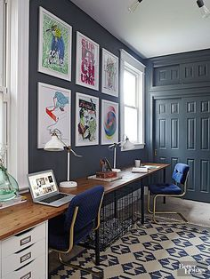 Keep the eye moving over the entire space as a whole by painting the doors and trim the same color as your walls.