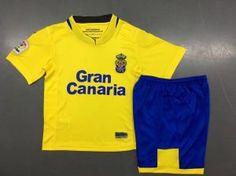 Kids UD Las Palmas 2017-18 Season Home Kit Kids UD Las Palmas 2017-18  Season Home Kit  471a47848