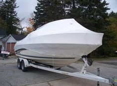Here are some of the benefits that Marine #shrink_wrap offers •	Protects your boat from the sun's UV rays •	No ice damage •	Stronger than tarps to withstand high winds •	Snow can slide off the shrink wrap easier •	Boat is vented to allow air flow, leaving boats dry •	Saves on expensive canvas enclosures and structures •	Plastic and wood framing is recycled each spring •	Boats can be towed away for storage anywhere http://www.shrink-wrap.co.nz/services/marine