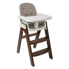 OXO Sprout High Chair. Table height, can be used for toddlers eating at the table without tray.