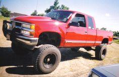'95 Chevy Silverado. Needs bigger tires ;)