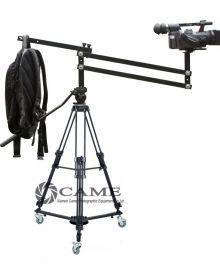4.2 Foot Mini Video Camera Crane Jib Arm Portable Pan Tilt Crane