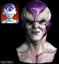 Frieza - 12 Realistic Dragon Ball Z Characters That Are Over 9000 Dbz, Cartoon Shows, Cartoon Characters, Zbrush, Dragon Ball Z, 3d Character, Character Design, Realistic Dragon, Realistic Cartoons