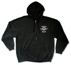 "Volbeat ""USA"" Black Zip Up Hoodie Sweatshirt Adult - http://bandshirts.org/product/volbeat-usa-black-zip-up-hoodie-sweatshirt-adult/"