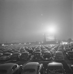 Drive-in-movie theater | Illinois, 1951