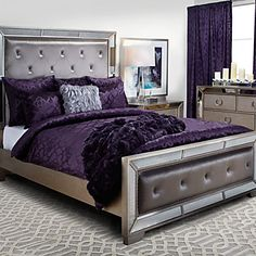 Some please tell Santa I want this for Christmas!!!! Ava Bed | Beds | Bedroom | Furniture | Z Gallerie
