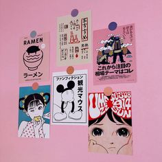 Japanese Retro Comic Book Style Oversized Sticker Room Wall Decoration Sticker H Comic Book Style, Comic Books, 365 Kawaii, Reproductions Murales, Dm Poster, Diary Decoration, Japanese Cartoon, Japanese Graphic Design, Japanese Aesthetic