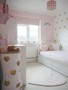 Amelies Soft Pink and Gold Toddler Bedroom Girls Bedroom Ideas Amelies Bedroom G Girl Bedroom Designs Amelies Bedroom Girls Gold Ideas pink soft Toddler Pink Bedroom Decor, Pink Bedroom For Girls, Pink Bedrooms, Little Girl Rooms, Bedroom Themes, Baby Room Decor, Trendy Bedroom, Girls Bedroom Decorating, Baby Girl Bedroom Ideas
