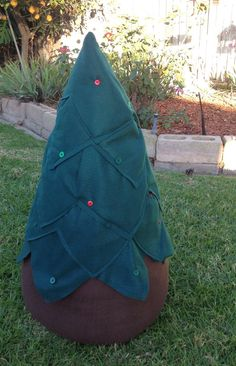 Kids Felt Christmas Tree for your own Ornaments to by LittleFruits, $100.00