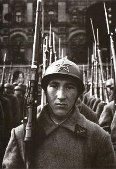 Ivan Shagin Red Army soldier, 1938.