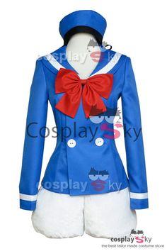 Disney Donald Duck Marine Uniform Cosplay Costume_2