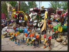 Metal Herons Yard Art | Yard Art