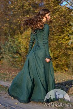 Mittelalter Kleid - Die Herbststimmung