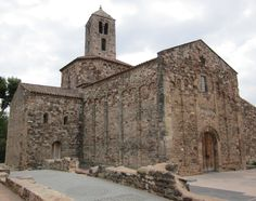 Church of Sant Pere. Built in the mid fifth century.